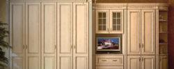 Деревянные шкафы для спальни